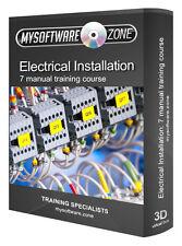 Instalación Eléctrica electrónica de los sistemas de formación programa del curso