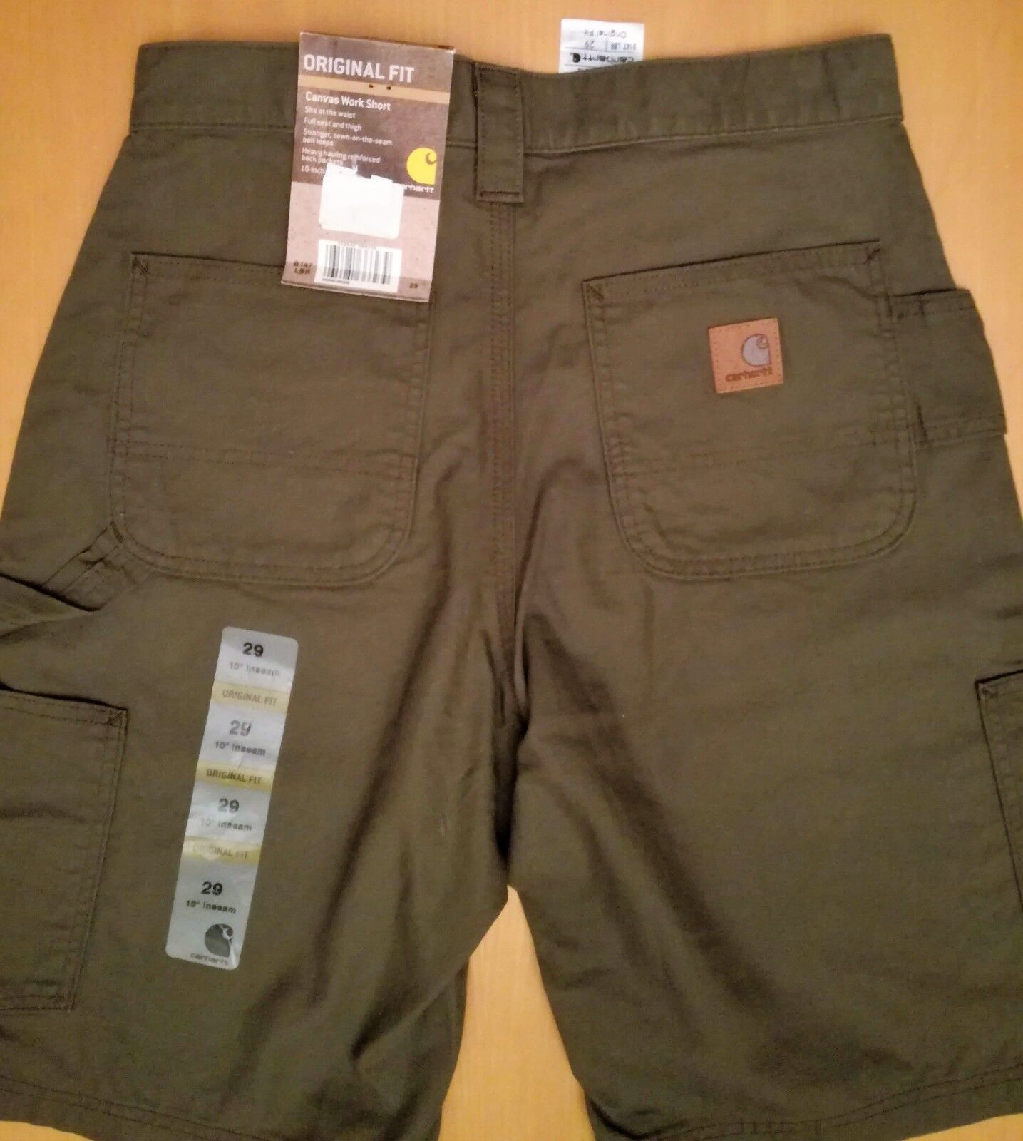 21d829c7998 Carhartt work Original Fit tg 29 NUOVI Canvas shorts ndpzpl18241 ...