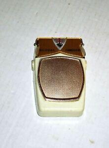 Vintage-Global-AM-Transistor-Radio-Model-GR-711-Working-no-Leather-Cover
