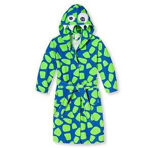 d228b26953c5c Schiesser Enfants Garçons Peignoir Dragon Robe de Chambre Taille 104 ...