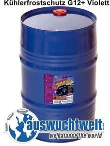 1x 60l Antifreeze Kühlerfrostschutz Konzentrat G12 Langzeitkühlerfrostschutz Ebay