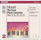 Mozart: Great Piano Concertos, Vol. 2 (CD, Dec-1994, 2 Discs, Philips)