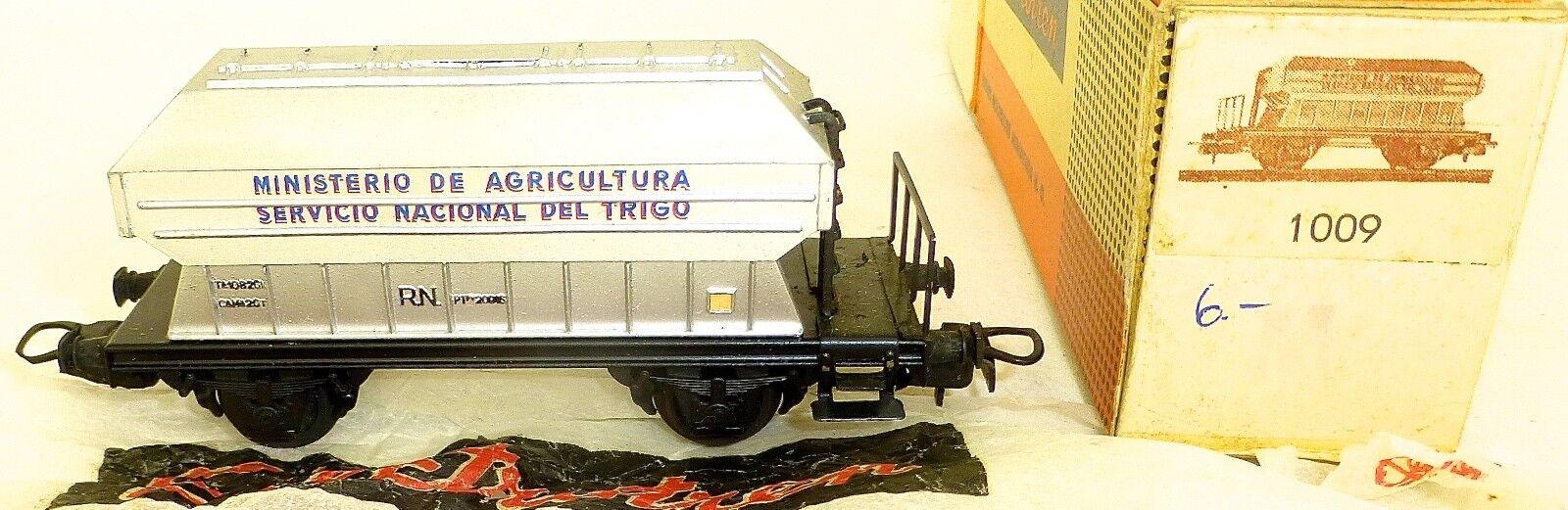 Rn Ministerio de Agricultura Silo Wagon Electrödetron 1009 H0 1 87