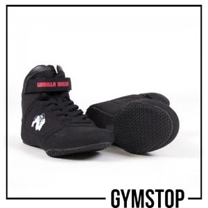 Gorilla Wear de alta Tops-Negro Gimnasio  Zapatillas Zapatos  cómodo