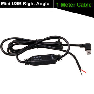 Details about Car DC 12V to 5V Inverter Hard Wire Power Charger Cable on