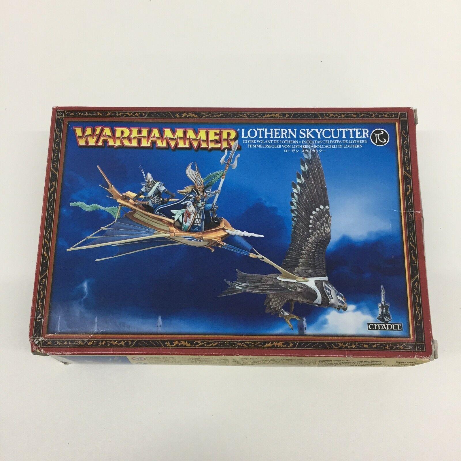 Warhammer Edad de Sigmar Alto Elfo Lothern Skycutter Aos Fantasía Nuevo Oop