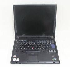 "LENOVO IBM ThinkPad T60 Core Duo T2400 1.83GHz 2GB RAM 14"" Laptop PC NO HDD"