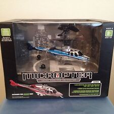 MICROPTER MICRO WIRELESS REMOTE CONTROL INDOOR HELICOPTER 100 FT RANGE WORKS