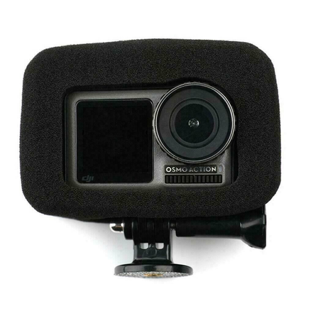 Top Windproof Sponge Wind Noise Reduction Foam for DJI Osmo Action Camera
