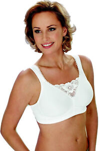 8f3a51ad4f3 new miss mary of sweden 2315 white full soft cup lace trim bra sizes ...