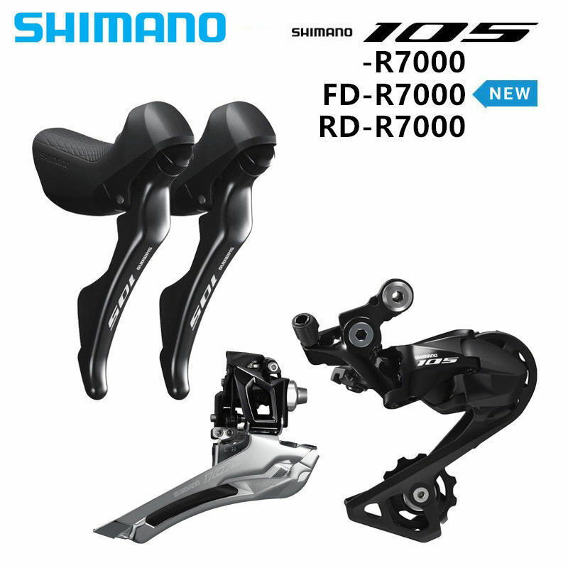 Shimano 105 R7000 Groupset 2x11S Road Bike  Shifter Front Rear Derailleur SS GS  on sale 70% off