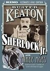 Sherlock Jr Three Ages 0738329071622 With Buster Keaton DVD Region 1