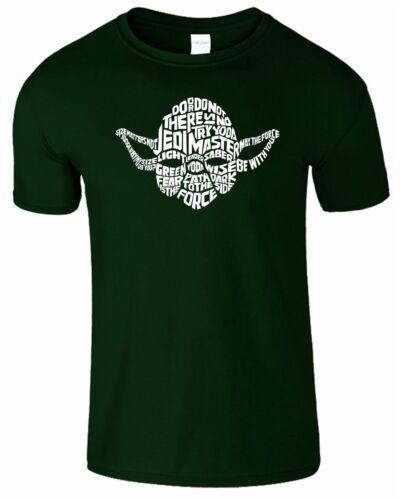 Il n/'y a pas de Maître Yoda Jedi Enfants Filles T-Shirt T-shirt homme à manches courtes garçons