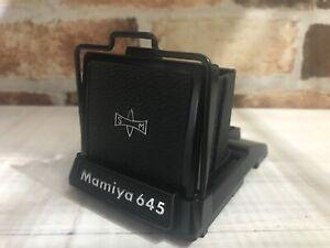 Quasi-Nuovo-Mamiya-Girovita-livello-finder-per-Mamiya-645-M645-1000S-DAL-GIAPPONE-350