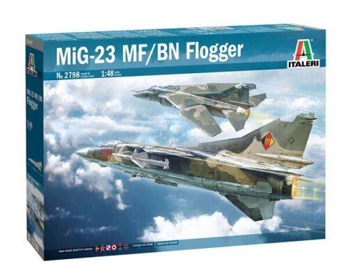 Neu Italeri 2798-1//48 MIG-23 MF//BN Flogger