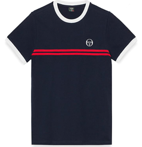 Sergio Tacchini Sergio Ss20 T-Shirt Maglietta da Uomo Uomo