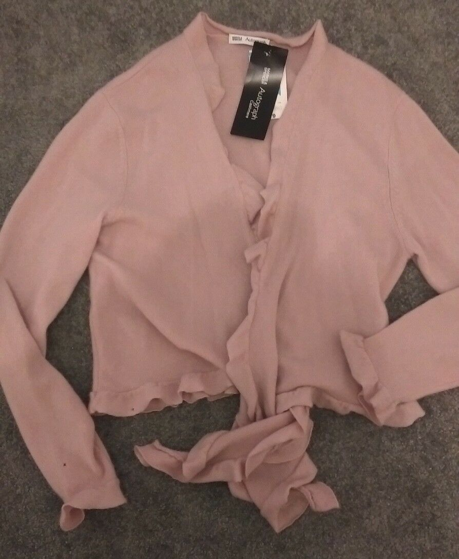 M&S COLLECTION Pure Cashmere Cardigan - Size 14 Worn Twice RRP