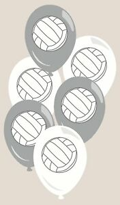 Volleyball All Star Sports Team Theme Birthday Party Decoration Latex Balloons