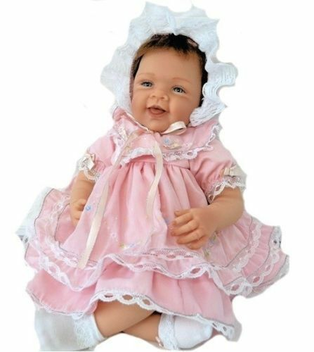 Ashton Drake Pretty In Pink Realistic Baby Doll 21/'/' New
