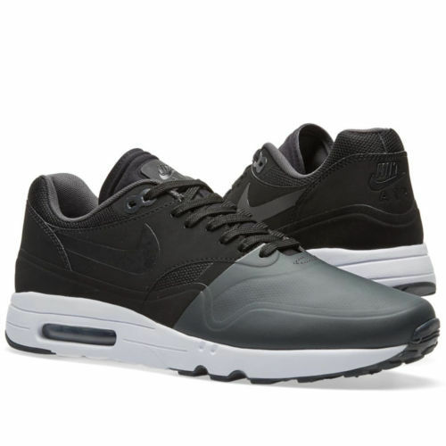 NIKE AIR MAX 1 Ultra 2.0 SE ANTHRACITE/ BLACK-BLACK/WHITE MEN'S SHOES 875845 002 Casual wild