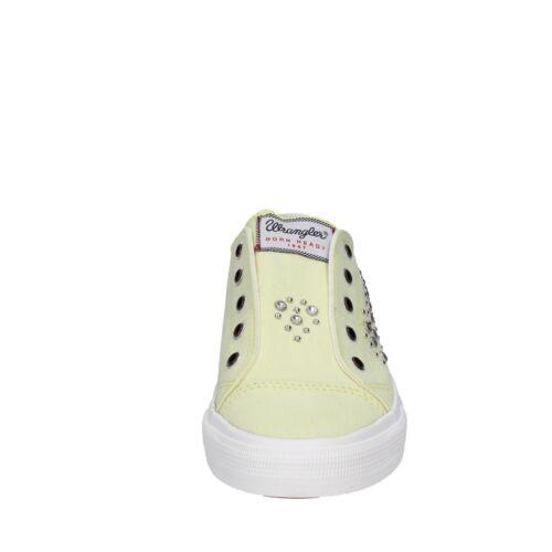 37 Wrangler Giallo Eu Borchie 37 Sneakers Scarpe Donna Bt775 Tela fxEwq5ZP5