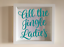 IKEA RIBBA Box Frame Personalised Vinyl Wall Art All the Jingle Ladies