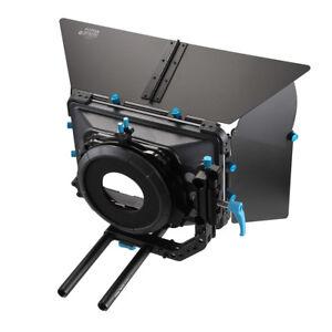 FOTGA-DP3000-Matte-Box-Swing-away-Quick-Lens-Change-For-15mm-Rod-Rig-w-Donut-M3