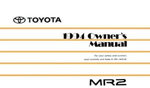 1994 toyota mr2 owners manual user guide reference operator book rh ebay co uk 1991 toyota mr2 service repair manual download 1991 toyota mr2 owners manual pdf