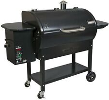 Camp Chef SmokePro LUX Pellet Grill in Black Automatic Auger Stainless Steel