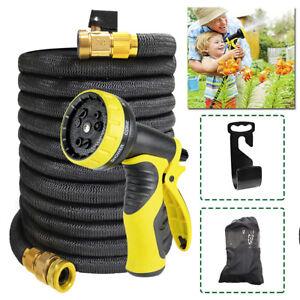 200FT Flexibler Gartenschlauch dehnbarer Wasserschlauch Flexischlauch flexibel