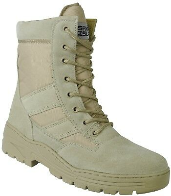 Neueste Kollektion Von Desert Suede Combat Boots Security Tactical Cadet Work Tan Military 977 F21