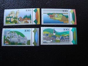 Germany-Stamp-Yvert-Tellier-N-1639-A-1642-N-MNH-COL7