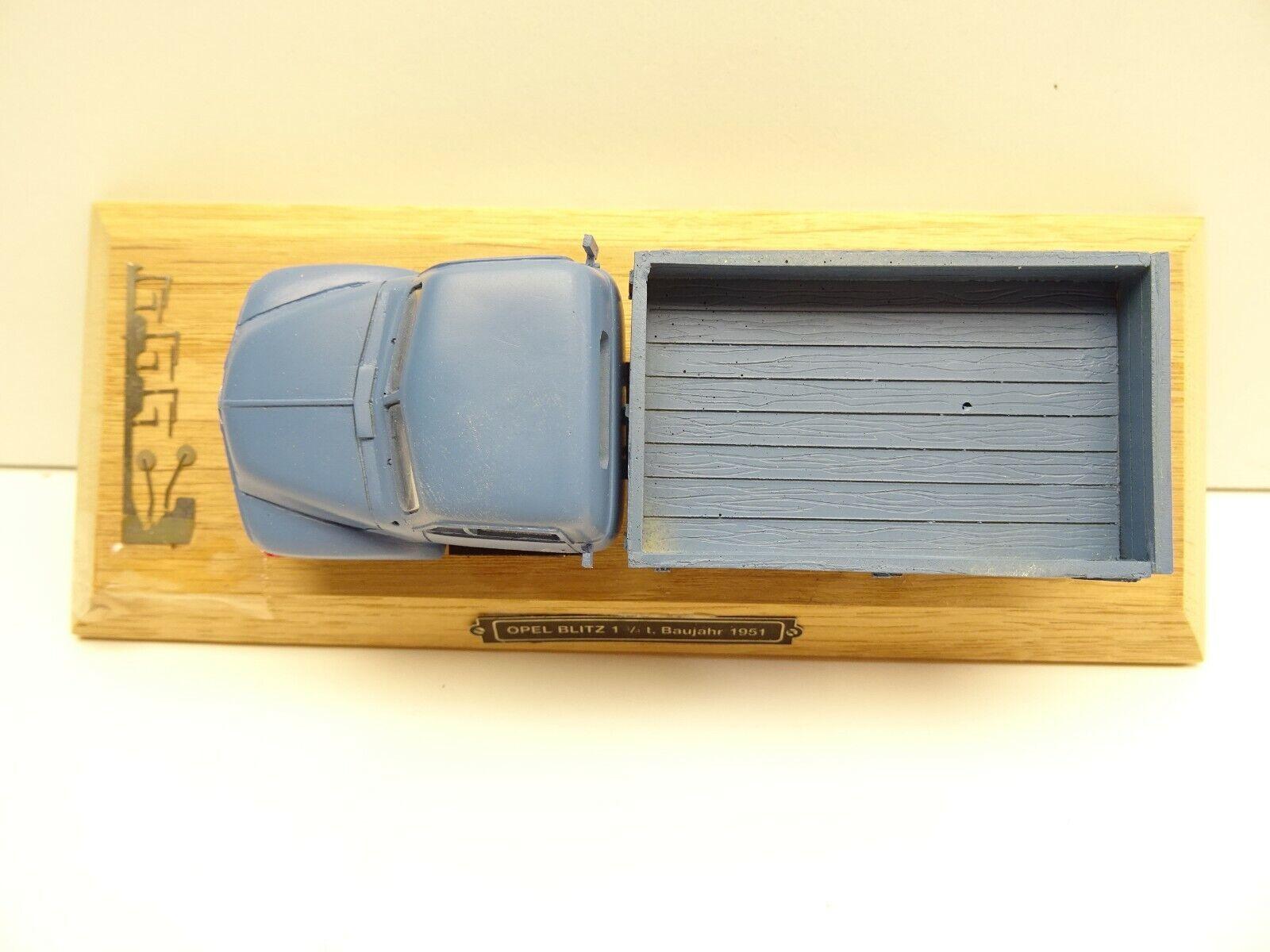 1 43 43 43 Gollwitzer 4301 Opel Blitz 1951 Zertifikat C4038 Handarbeitsmodell 7d26d3