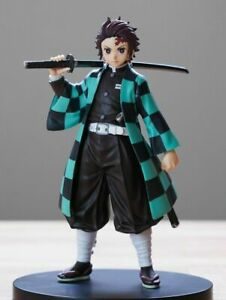 Anime Demon Slayer Kimetsu no Yaiba Kamado Tanjirou Action PVC Figure New