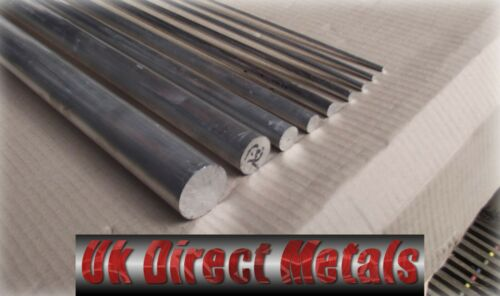 Aluminium 6082 Metric Round bar 4-12MM 1.5-2.5Mtr Long With Free Cutting