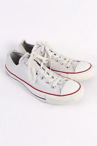 CONVERSE Vintage Unisex All Star Low Top Chuck Taylor Sneaker Taglia UK 7 S151