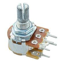 500K Linear 16mm Potentiometer Pot W/Switch