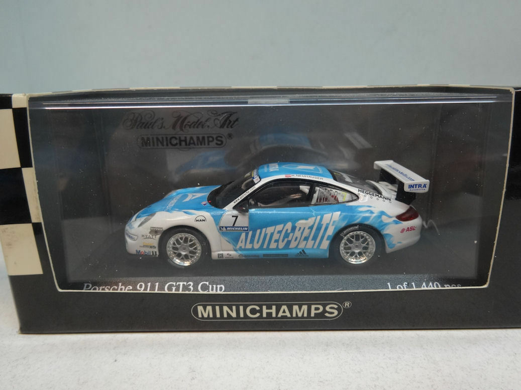 Minichamps     PORSCHE 911 GT3 - HANNES NEUHAUSER -  400066407 9a0b22