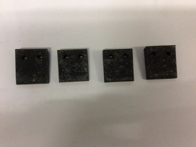 Triumph Tr4 Tr6 Set Of 4 Bonnet Buffer Wedges Part No 611842 For