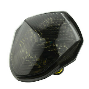 Integrated LED TailLight Turn Signals Fits Suzuki GSXR 1000 2003-2004 Smoke USA