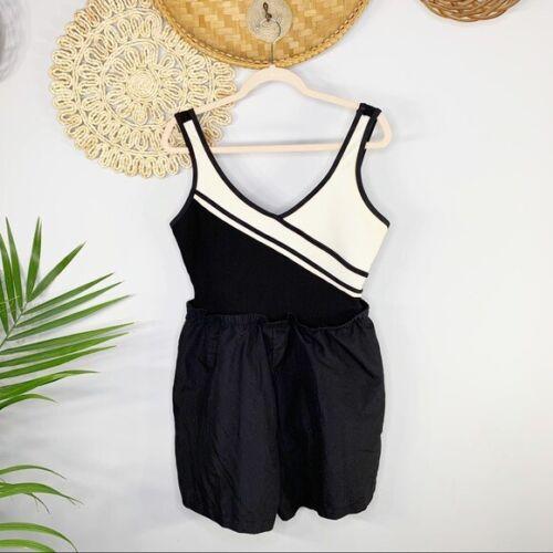 Beach Cabana   Vint Romper Bathing Suit One Piece