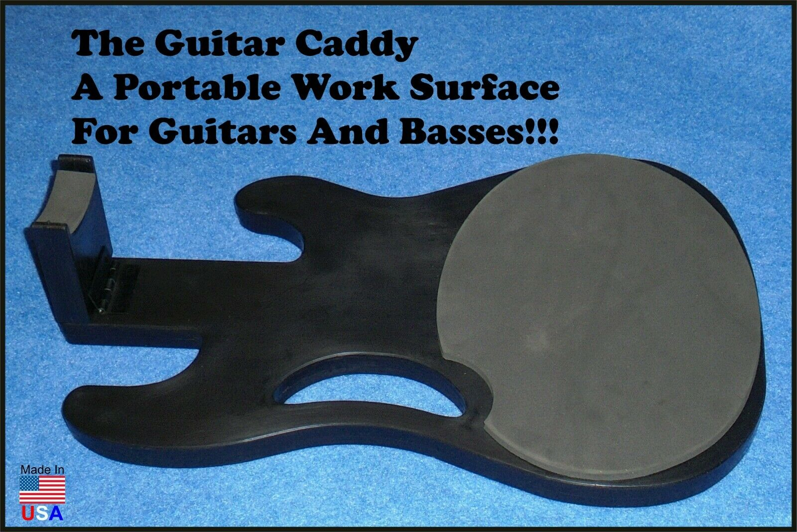 Bass Caddy Work station, Guitar & Bass Portable Work station Bench.