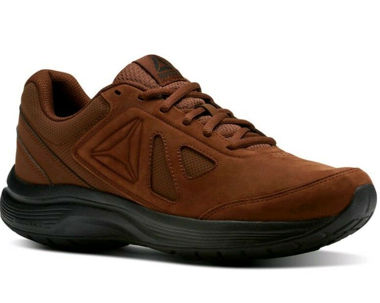 NEW hommes Medium Width (CHOOSE SZ) REEBOK Walk Ultra 6 Dmx Max RG. BRUSH BROWN.