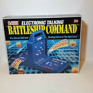 Electronic-Talking-Battleship-Vtech-Command-Game-Complete-Tested-Works