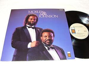 Mosley-amp-Johnson-Self-Titled-S-T-1987-Black-Gospel-LP-Nice-NM-Vinyl
