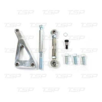 HotRod99 Fit Chevy SB LWP Chrome Billet Aluminum Alternator Bracket Sets-Long Water Pump