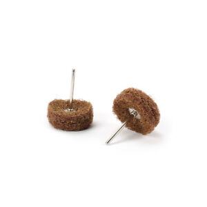 30Pc-Abrasive-Buffing-Wheel-Brush-1-8-034-Shank-Rotary-Tool-Polishing-Wood-80-Grit