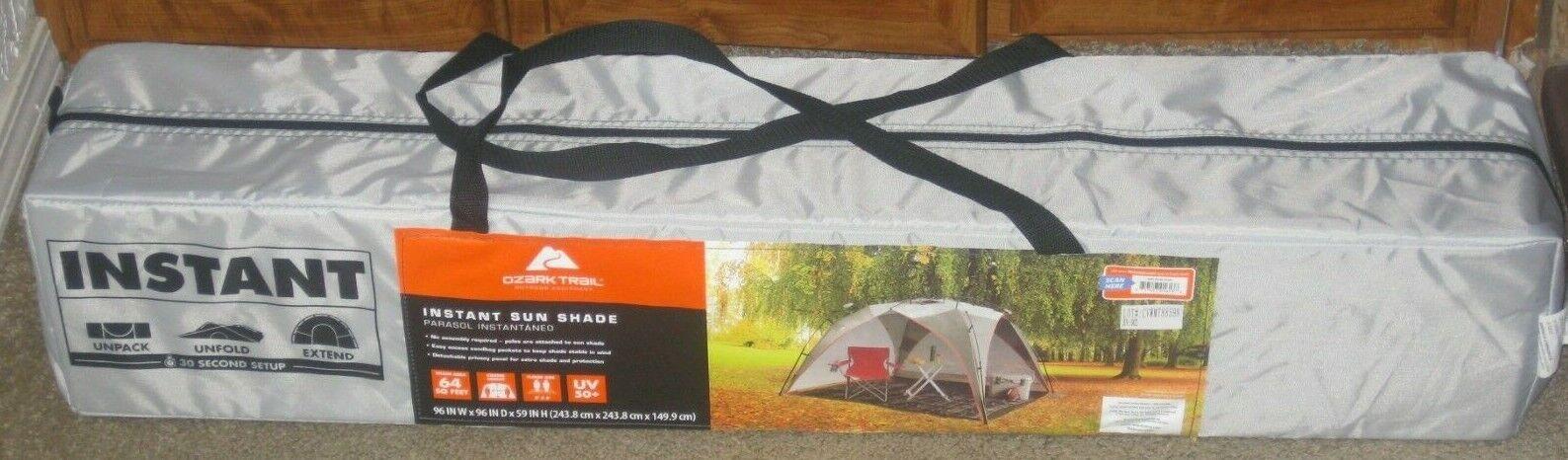 Ozark Trail 8' X 8' Instant  Parasol  nueva gama alta exclusiva