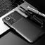 miniatura 8 - COVER per Xiaomi Redmi Note 10 / Pro CUSTODIA CARBONIO SLIM + VETRO TEMPERATO 9H