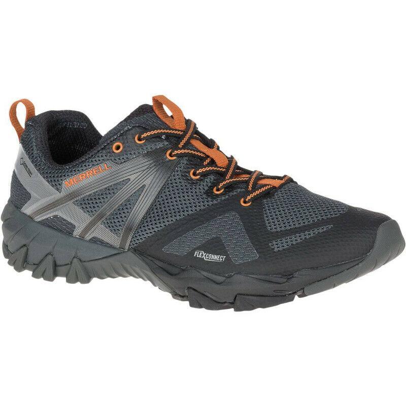 Para Hombre Merrell Mqm Flex Gore-Tex Hombres Zapatos para Caminar-gris